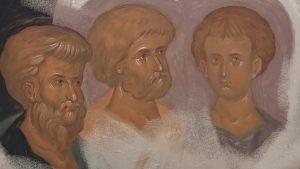 Апостолы, фрагмент