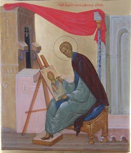 Икона прп. Андрея Рублёва клеймо